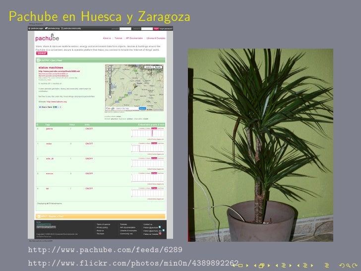 Pachube en Huesca y Zaragoza        http://www.pachube.com/feeds/6289    http://www.flickr.com/photos/min0n/4389892262