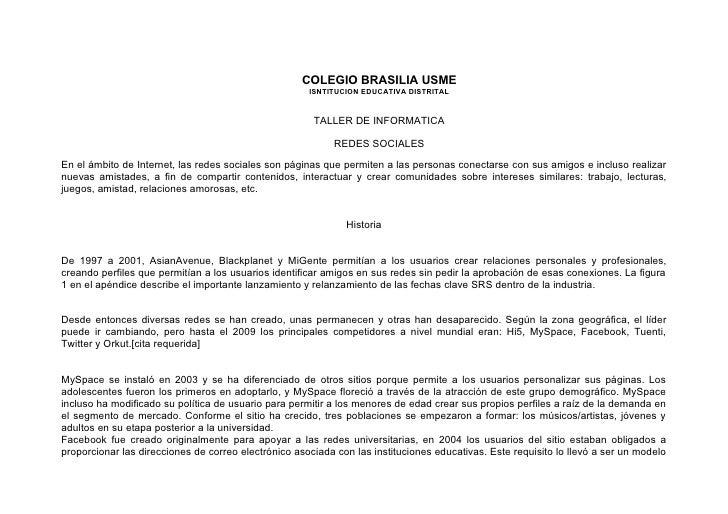 COLEGIO BRASILIA USME                                                       ISNTITUCION EDUCATIVA DISTRITAL               ...