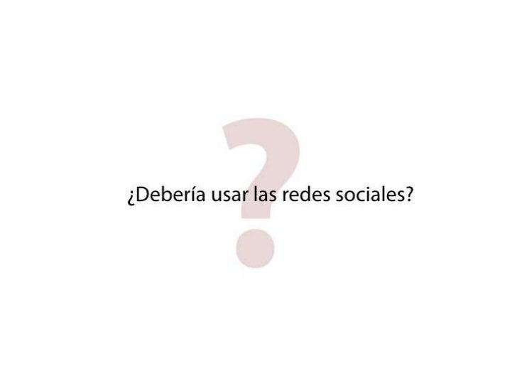 pensar en red: redes sociales en educación Slide 3