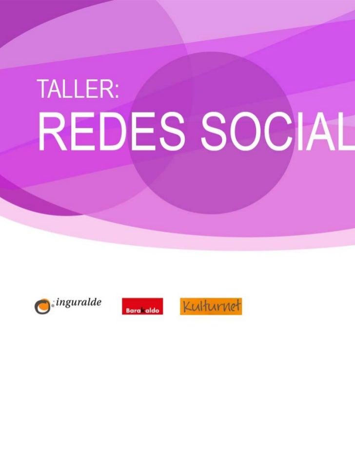 REDES SOCIALES                                                                     1. INTRODUCCIÓN                        ...