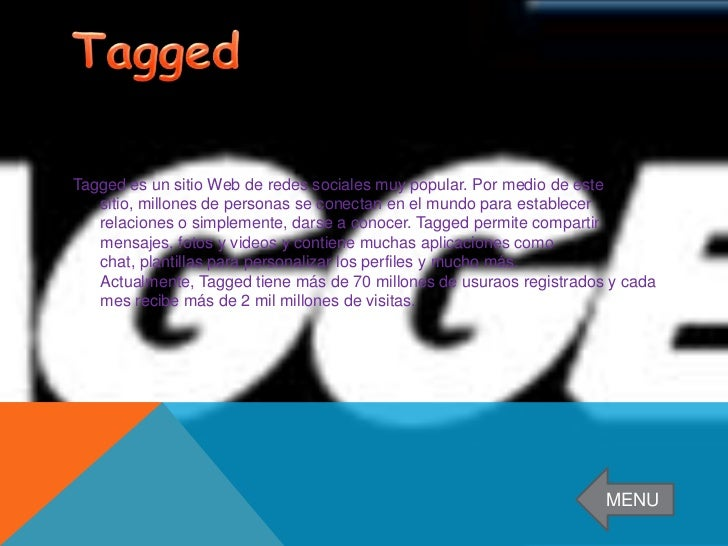 Classmates.com es la primera red social que se creo, data del año 1995 y que tiene la    finalidad hasta hoy en día ,de pe...