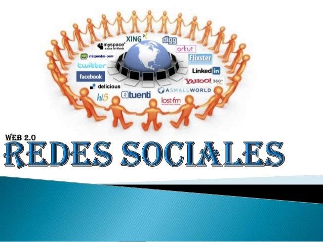    Las redes sociales son construidas y dirigidas por los mismos usuarios,    quienes además las nutren con el contenido....