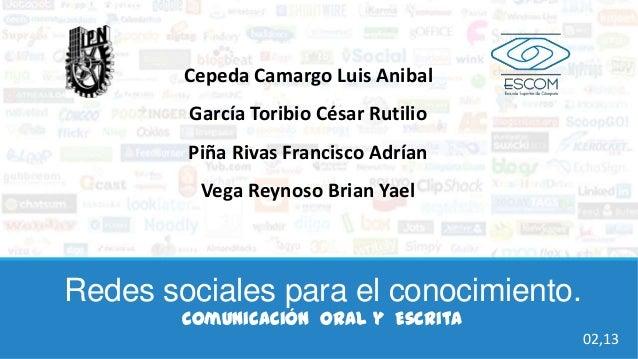 Cepeda Camargo Luis Anibal        García Toribio César Rutilio        Piña Rivas Francisco Adrían         Vega Reynoso Bri...