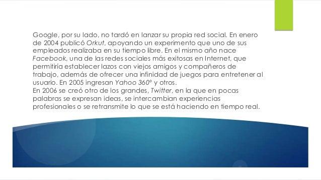 """"""" Redes Sociales mas importantes                                   """""""