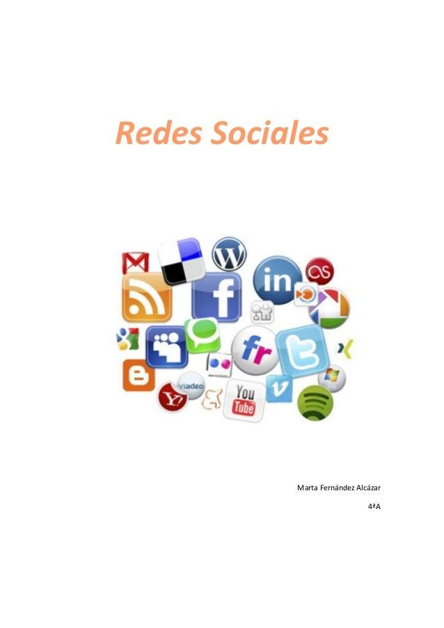 Redes SocialesMarta Fernández Alcázar4ªA