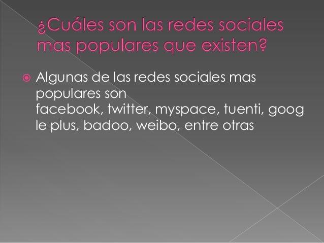 Redes sociales Slide 3