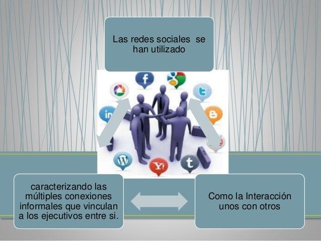 Las redes  cuentan con  una serie  de herramienta  s tecnológicas  muy sencillas  Y a su vez  ha producido  gran impacto  ...