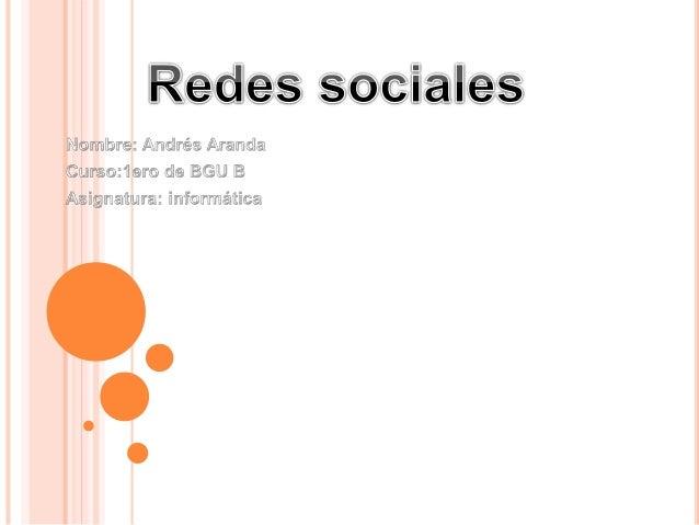 ¿QUÉ SON LAS REDES SOCIALES?  Una red social es una estructura social compuesta por un conjunto de actores (tales como in...