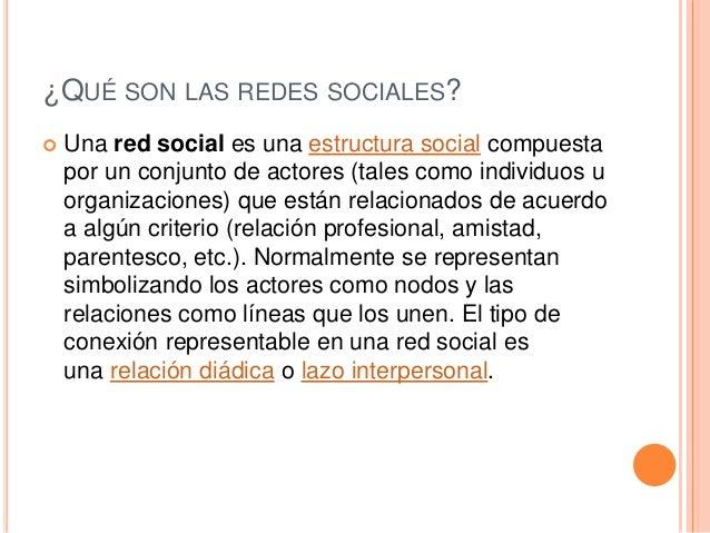 ANÁLISIS DE LA RED SOCIAL  estudia esta estructura social aplicando la teoría de grafos e identificando las entidades com...