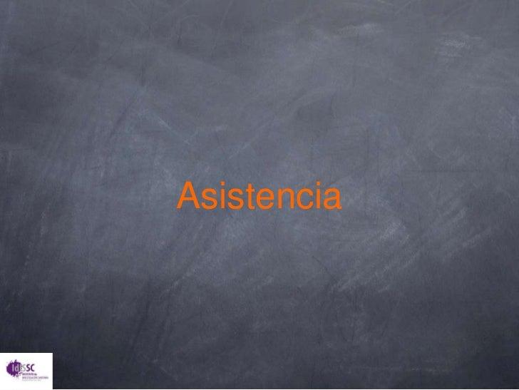 Asistencia<br />