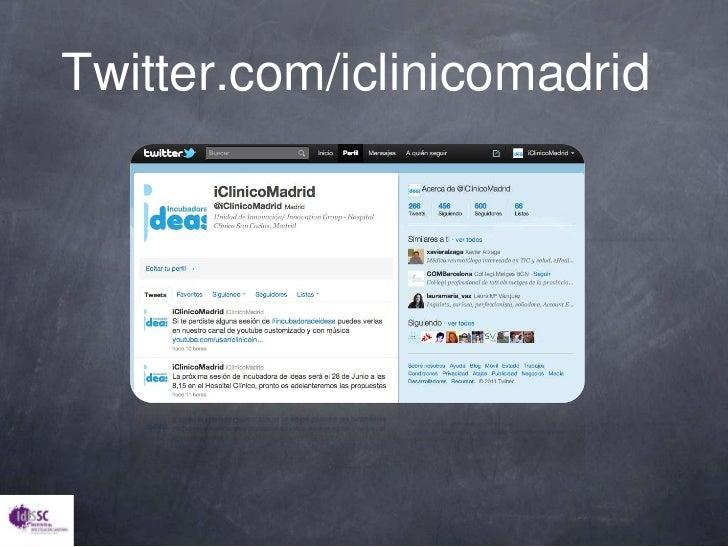 Twitter.com/iclinicomadrid<br />