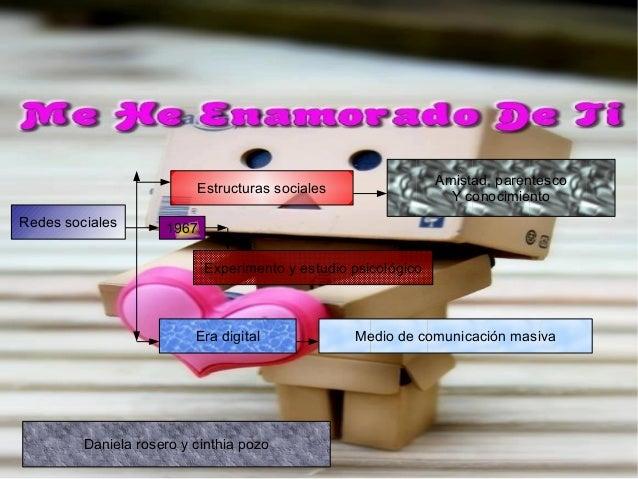 Redes socialesEstructuras socialesAmistad, parentescoY conocimiento1967Experimento y estudio psicológicoEra digital Medio ...