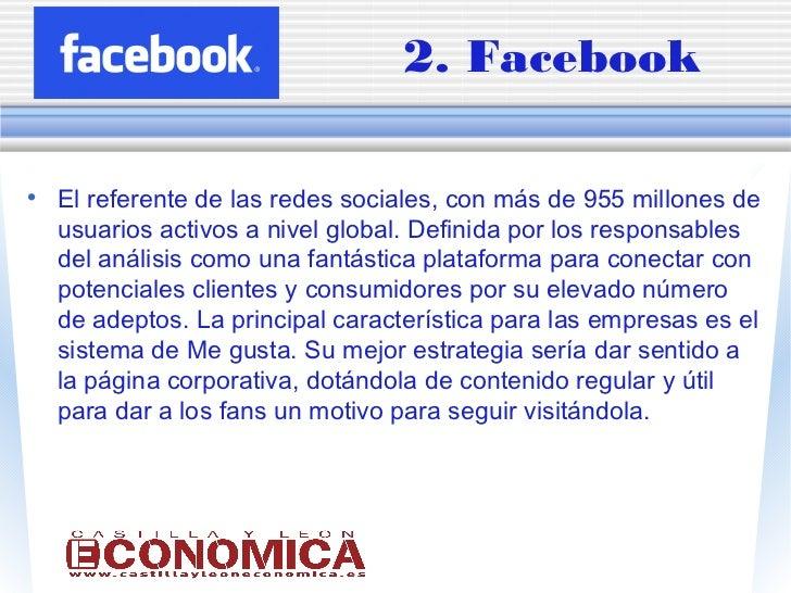 Las 9 mejores redes sociales para las empresas Slide 3