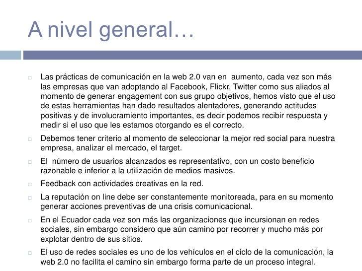 Redes sociales en la difusi n y posicionamiento de marca for Importancia de la oficina dentro de la empresa wikipedia
