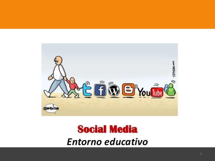 Social MediaEntorno educativo                    1