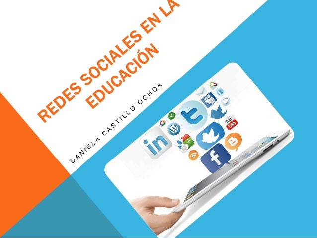"""""""Redes Sociales en la Educación"""" por Daniela Castillo Ochoa se distribuye bajo una Licencia Creative Commons Atribución-No..."""