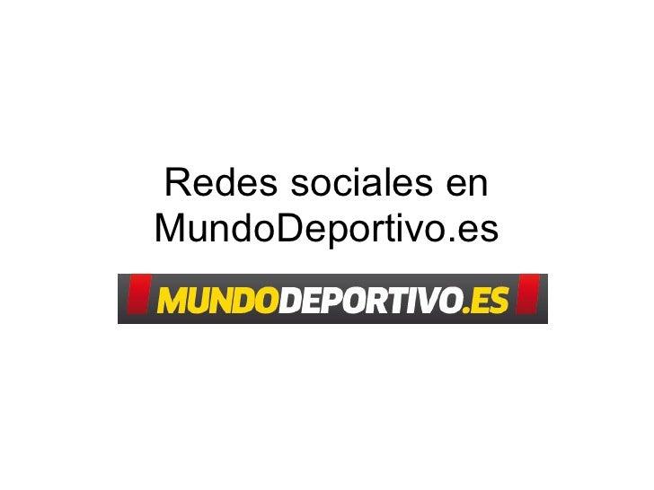 Redes sociales enMundoDeportivo.es