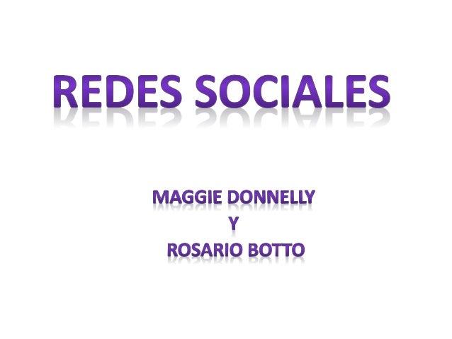 • Las redes sociales son sitios de internet que permiten a las personas conectarse con sus amigos e incluso realizar nueva...