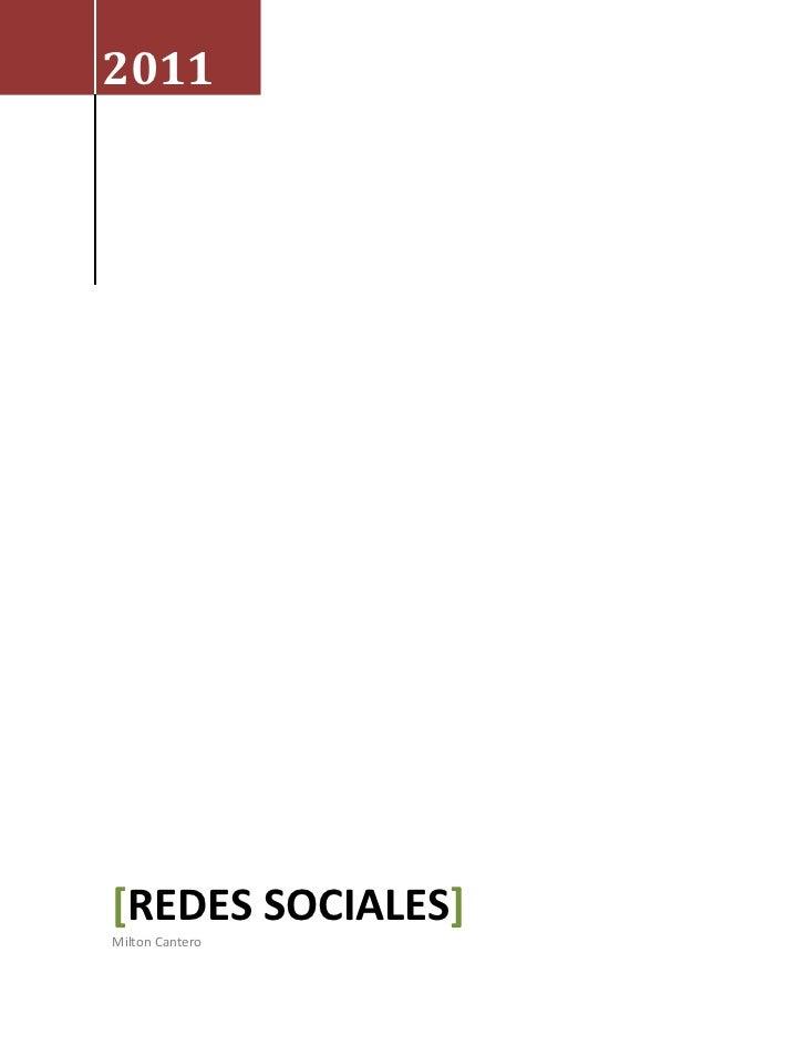 2011[REDES SOCIALES]Milton Cantero