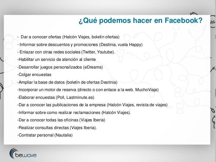 Redes sociales para agencias de viajes - Oficinas viajes halcon ...