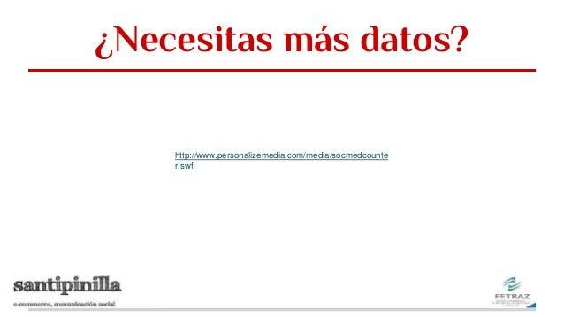 ¿Necesitas más datos? http://www.personalizemedia.com/media/socmedcounte r.swf
