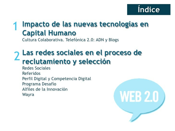Redes sociales selección de personal Slide 2