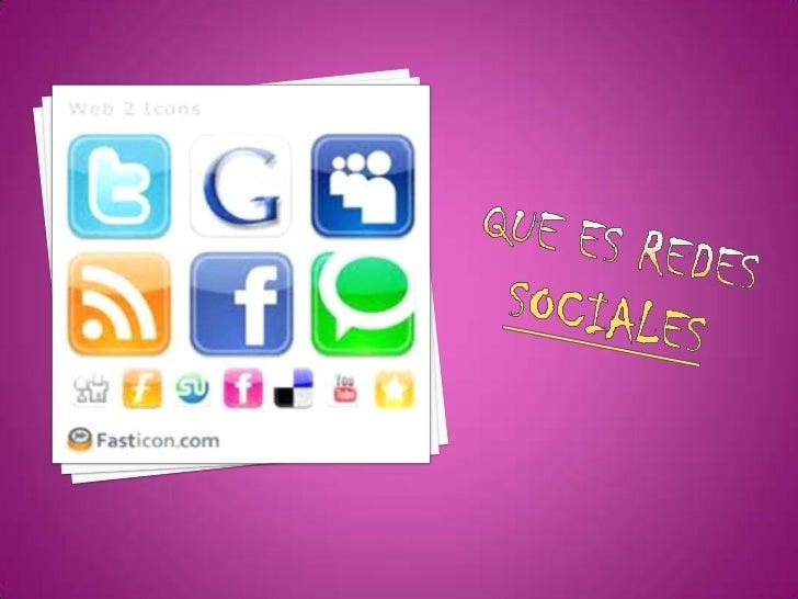 Redes sociales tatiana Slide 3