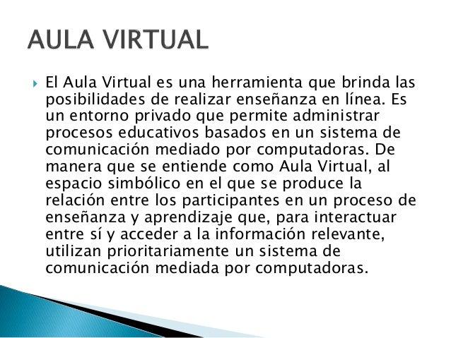 Redes sociales y aulas virtuales