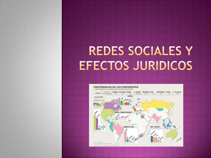 REDES SOCIALES Y EFECTOS JURIDICOS<br />