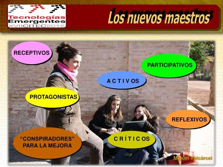 RECEPTIVOS                                   PARTICIPATIVOS                    A C T I V OS    PROTAGONISTAS              ...