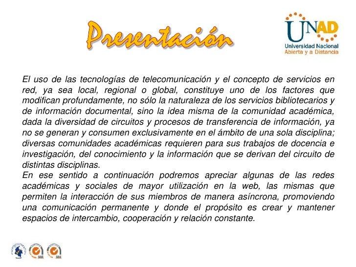 REDES Y COMUNIDADES EN LOS ENTORNOS VIRTUALES Slide 2