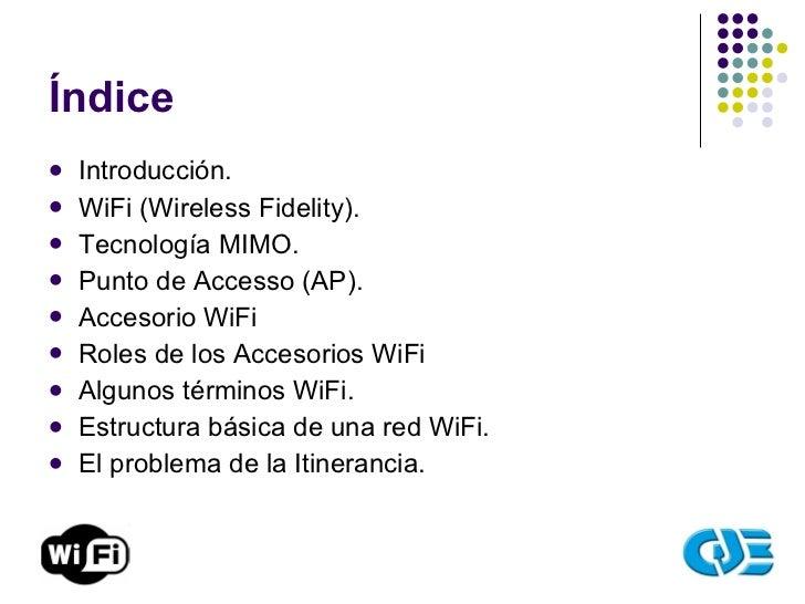 Redes WiFi Slide 2