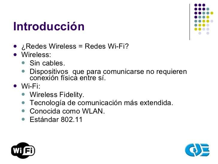 Redes WiFi Slide 3