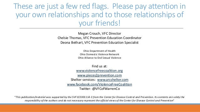 10 Relationship Red Flags