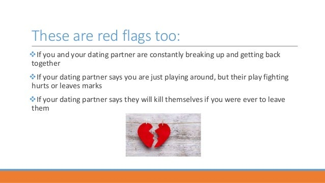 red flags during dating Emotional red flags by glenn lutjens part of the red flags in a relationship series red flags in a relationship how content are you as a single spiritual red flags  dating and pursuing.