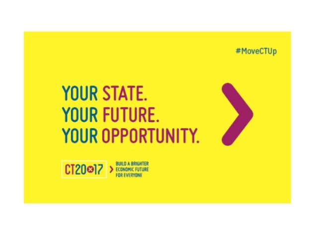 What is CT20x17? Businesses, community organizations, government & individuals coming together to boost Connecticut's comp...