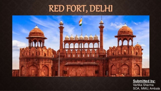 N Home Plan Elevation : Red fort