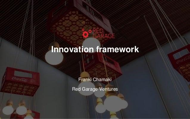 Innovation framework Franki Chamaki Red Garage Ventures