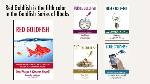 Red Goldfish is the fifth color in the Goldfish Series of Books
