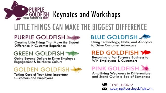 Red Goldfish - Motivating Sales and Loyalty Through Shared Passion and Purpose