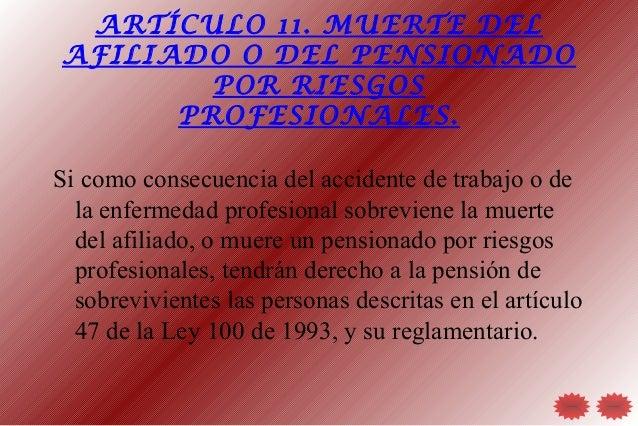 Redgrad 1 - Se cobra la pension el mes de fallecimiento ...