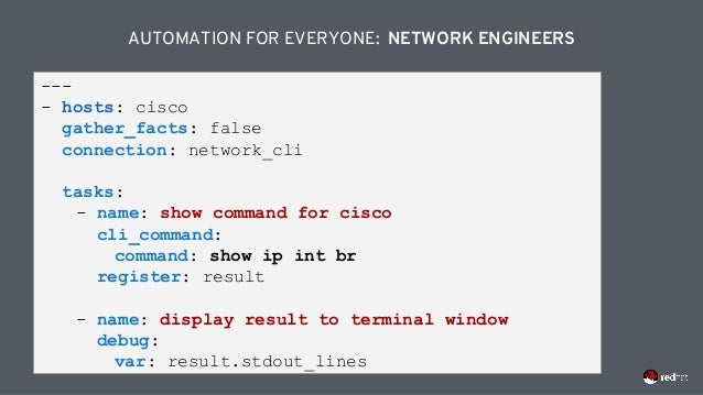 Red hat ansible automation technical deck