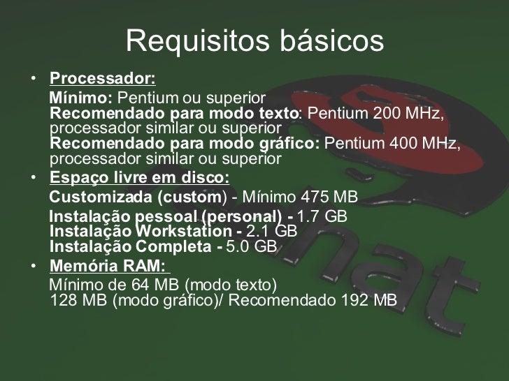 RedHat - Fedora - Sistemas Operacionais Slide 3