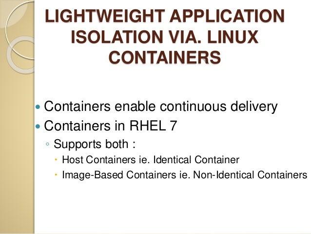 Red hat enterprise linux 7 (rhel 7) Slide 3