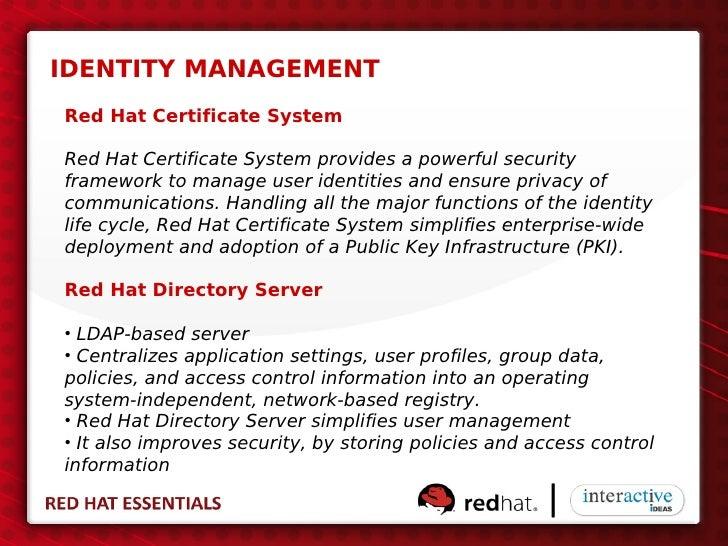 Red Hat Essentials