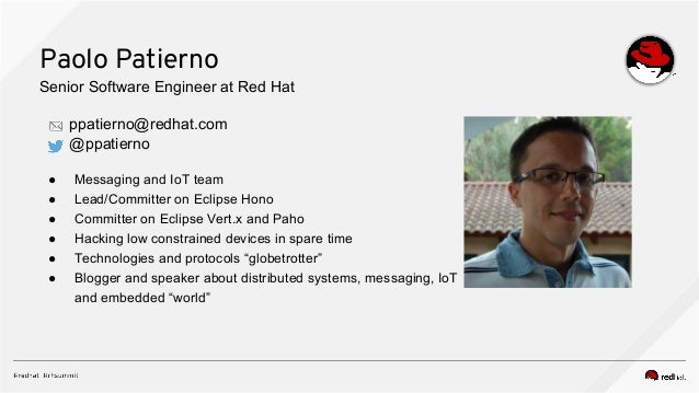 Red Hat JBoss AMQ and Apache Kafka : which to use ? Slide 3