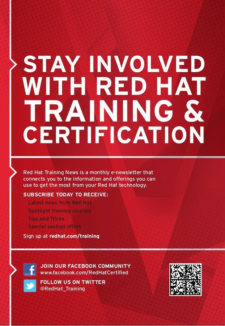Redhat training &certification Slide 2