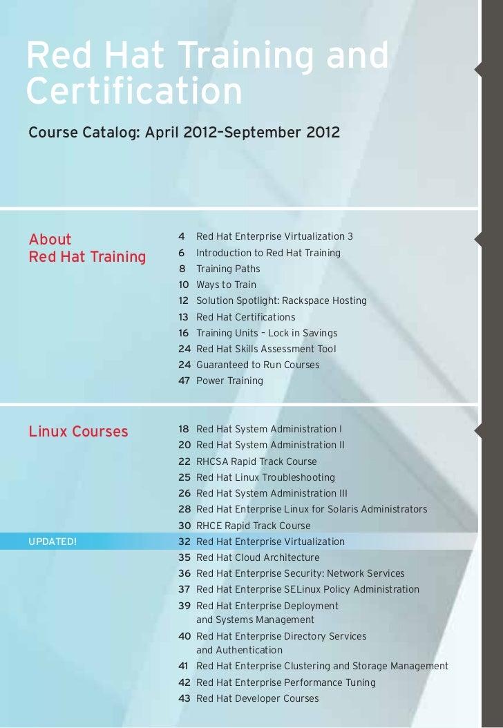 Redhat training &certification Slide 3