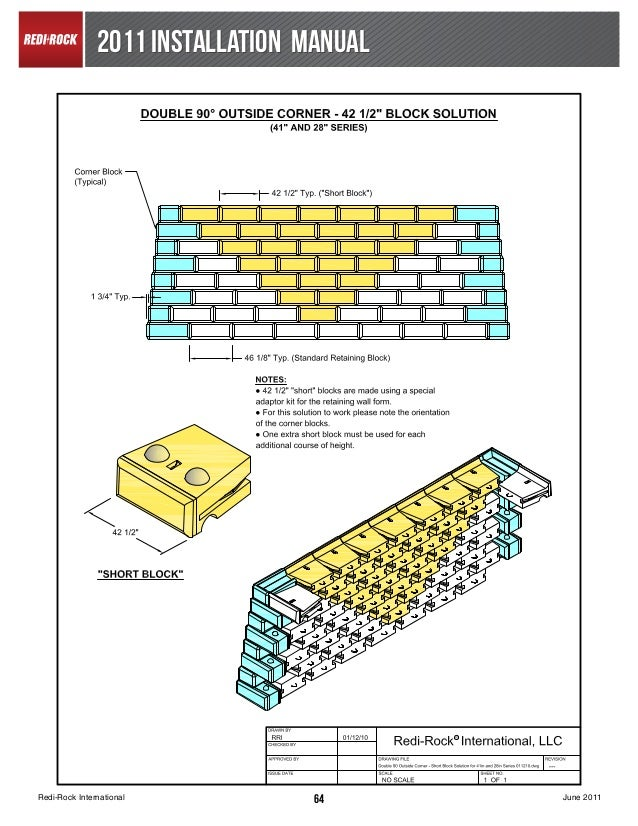 Concrete Block Retaining Wall Design Guide : Block retaining wall sign concrete