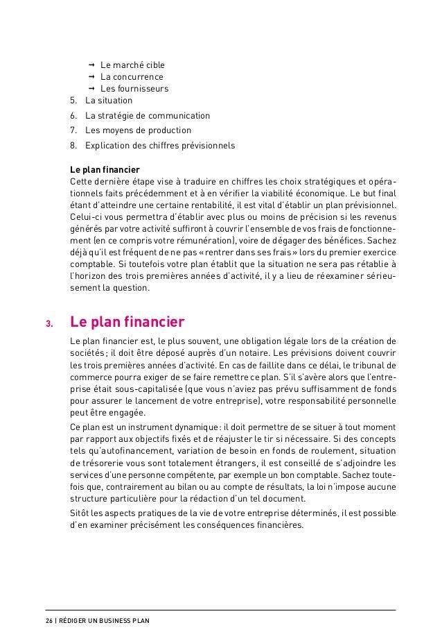 Exemple intégral de Business Plan